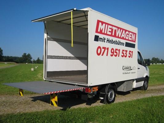 Vermietung Zügelwagen - Westgarage Lanker AG 8